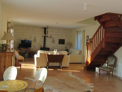 Photo for Holiday house with pool and tennis court 20mn from Opale Coast