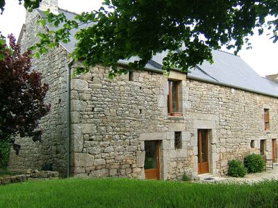 Photo for Character 18th Century Stone property on 4 acres near Dinan, Breton Beaches