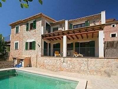 Photo for Cosy house in beautiful Fornalutx with private pool.