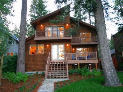 Photo for Summer weeks avail! Tahoe Vista Lakefront, panoramic views! Buoy incl, pet on approval