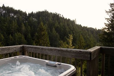 Private Hot Tub with View!