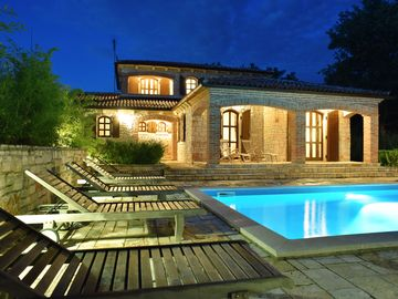 Luxury villa with heated pool