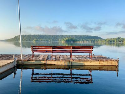 Photo for Dog Friendly - Cozy, Door County, WI Retreat - Directly at the Water's Edge ↟↟↟