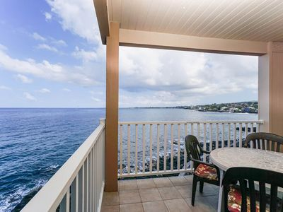 Photo for Oceanfront Island Condo w/ Private Lanai, Full Kitchen, Washer/Dryer