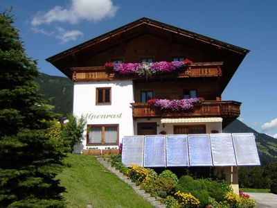 Photo for Guest house with 2 apartments and with stunning views of mountain and valley