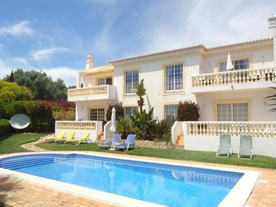 Photo for Luxury 2-Bedroom Ground Floor Apartment With Pool In Private Garden & Sea View