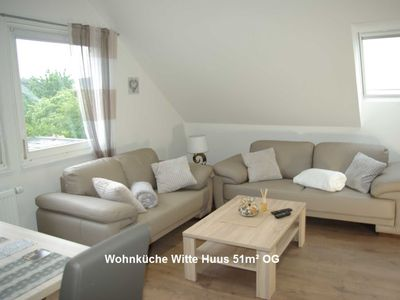 Photo for Fewo Witte Huus 51 m² with 2 bedrooms - Witte Huus 75m² and 51m² apartments