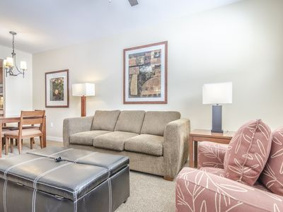 Photo for Walk to the slopes from this Founders Point one bedroom. Sleeps 5.