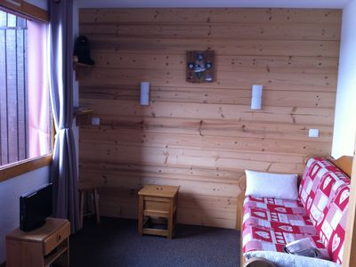 Photo for Belle Plagne, coral residence, ski studio feet