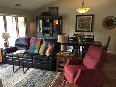 Open concept living room /Dining room