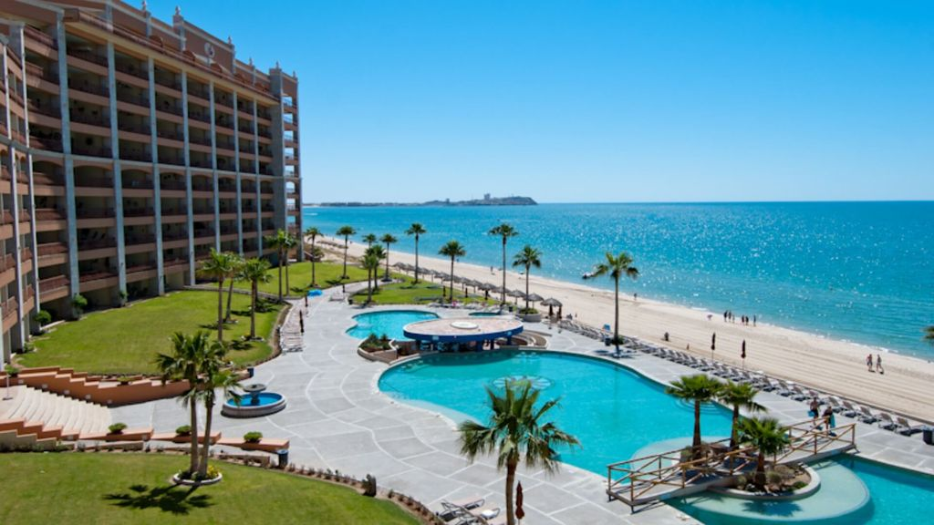 Beachfront Condo Walk From Private Patio To Beach Pool Swim Up Bar Jacuzzis Homeaway
