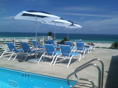 Photo for Oceanfront Condo Suite w/Park View - Rooftop Pool - Ocean Drive - South Beach