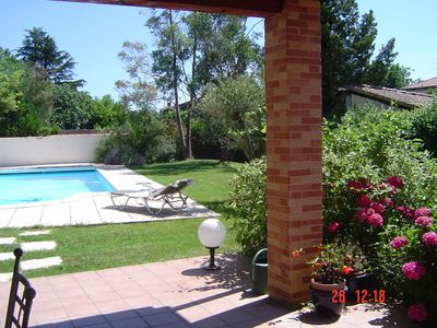 Photo for Toulouse Blagnac House Type 3 garden private pool 10 mn downtown Toulouse