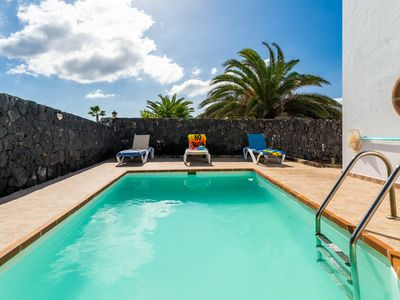 Photo for Lovely villa w/ private pool, garden & terrace overlooking the city!