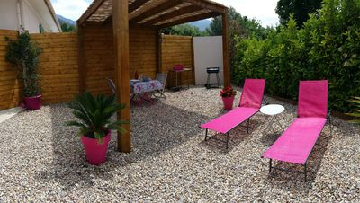 Photo for Charming little air-conditioned house with outdoor space in Patrimonio (wifi)