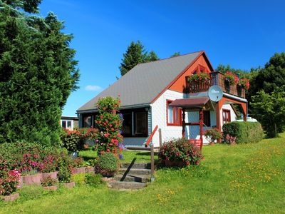 Photo for Cozy 3 star holiday home directly on the Rennsteig.