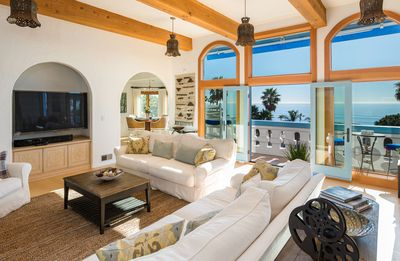Photo for Amazing Malibu Broad Beach Retreat Steps from the Beach Amazing Ocean View