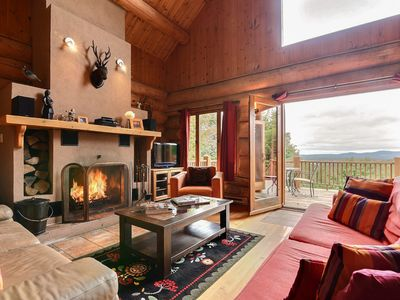 Photo for Breathtaking View Log Cabin Lodge  Perfect for your Family Holiday