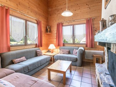 Photo for 10 people chalet, 3*, perfect for families, fireplace, garage, WIFI