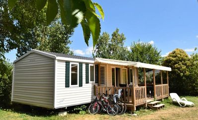 Photo for Campsite Camp de Florence **** - Mobil Home Deluxe Octalia 4 rooms 8 persons