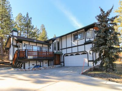 Photo for Fun & fabulous family-friendly getaway - lake views, wood fireplace & more!