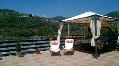 Photo for Wonderfull Liguria your oasis of peace 8 minutes from the beautiful sea of ​​Diano Marina