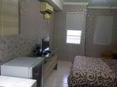 Photo for Cozy Studio Room Apartment in Serpong 27 square meter 2611BB