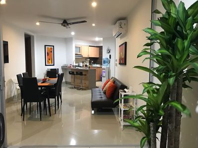 Photo for Beautiful 3B/2B apartment located in the exclusive area called Bello Horizonte.