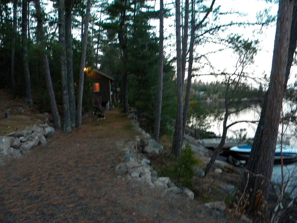 Crane Lake Cabin Al End Of A Long Day Wilderness Play Time To