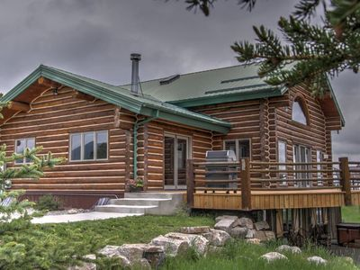 Photo for Your montana mountain experience awaits in this home.  360 views of downtown and the ski hill.  WiFi