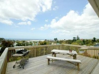 Photo for Kauri Tree - traditional kiwi bach with sea views