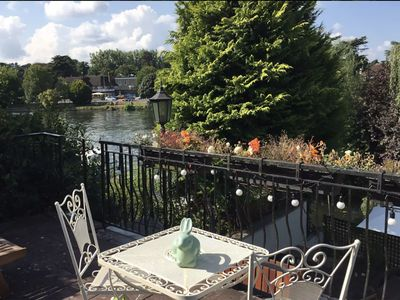 Photo for Fabulous house on the river Thames riverside, near Windsor and London