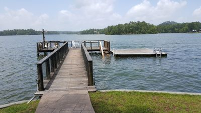"Photo for ""One-of-a-kind""  Private Lake Martin Peninsula With  Large Boat Ramp & 3 Piers"