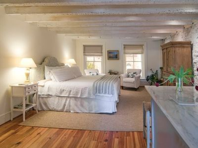 Photo for Romantic Loft Apartment in Historic Downtown