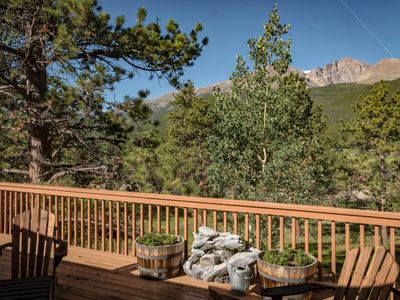 Photo for Bella Vista - Best Views of Longs Peak on 12 Acres!  And new for 2020!