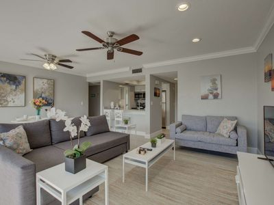 Photo for Deeded Beach access to SK Beach, pool, renovated gorgeous condo with WiFi, tennis ,covered parking