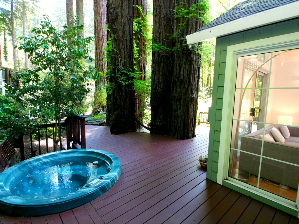 creekside sanctuary cottage wine country vrbo