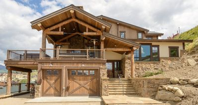 Photo for A Great Place to Get Away To: Outdoor Living Area, Hot Tub, Fireplace, Elegant