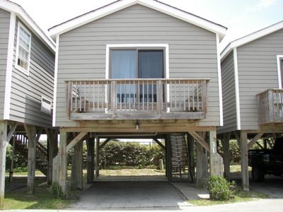 Photo for Rip Tide is Just Steps Away from the Beach! OBX Hatteras Cabanas