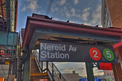 The Nereid Avenue Station is just a short walk from this property.