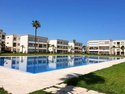 Photo for Beautiful pool view apartment in Ola Blanca 4533