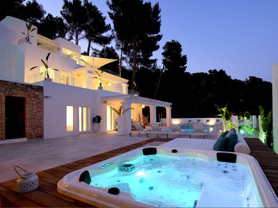 Photo for Unique and spectacular, modern luxury villa with private pool and sea views