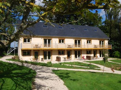 Photo for Holiday home / holiday home / apartment in historic Normandy, near the sea