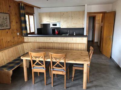 Photo for Comfortable 3*, 3-bedroom apartment next to the ski lift. Completely renovated in 2019. Fully equipe