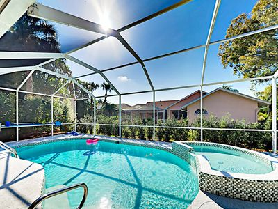 Photo for Exceptional Home w/ Beautiful Master Suite, Screened Pool & Spa