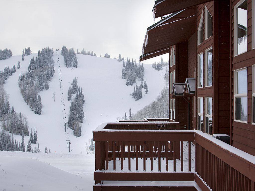 View Of Sundown Day/night Skiing Area From Deck.