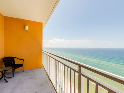 Photo for Beachfront family resort condo w/ great pools, hot tub, lazy river & Gulf view!