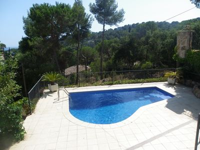 Photo for VILLA WITH PRIVATE POOL, GARDEN AND GARAGE NEAR THE BEACH ref JULIA