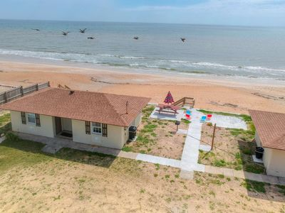 Photo for Relax! Steps to Quiet Beach! The Quarter Deck Cottage in Flagler Beach. Lovely beachside location.