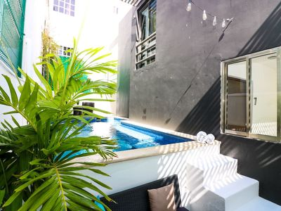 Photo for 8BR Casa Cuvee WiFi+AC walk to centro. Sleeps 24!